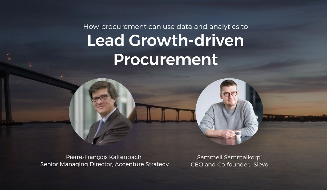 Growth-driven procurement with Sievo and Accenture