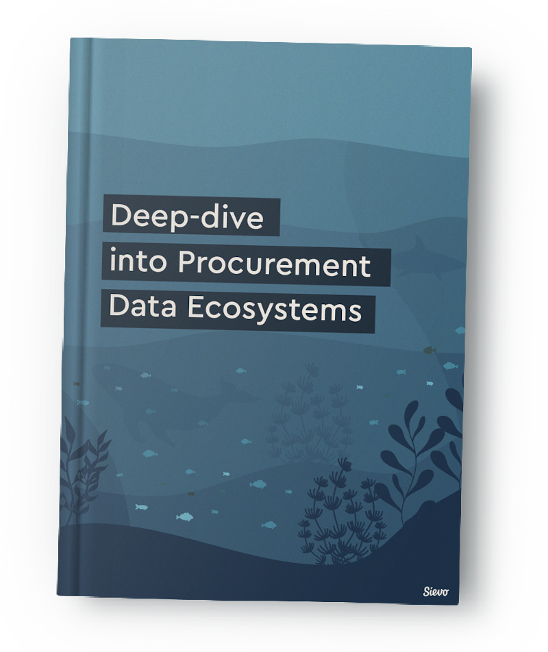 Deep dive into procurement data ecosystems-book cover-mockup