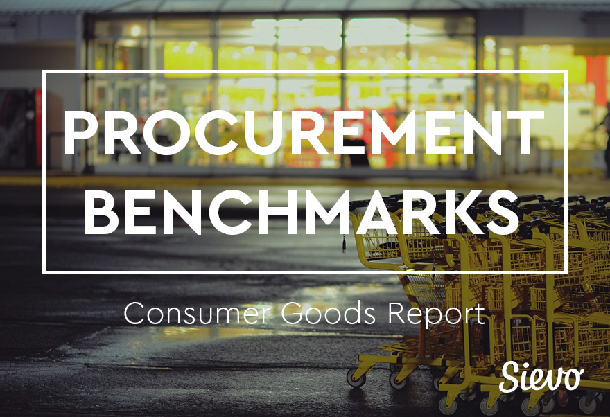 Procurement Benchmarks Consumer Goods