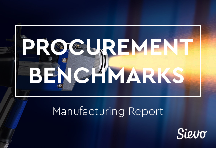 Procurement Benchmarks Manufacturing