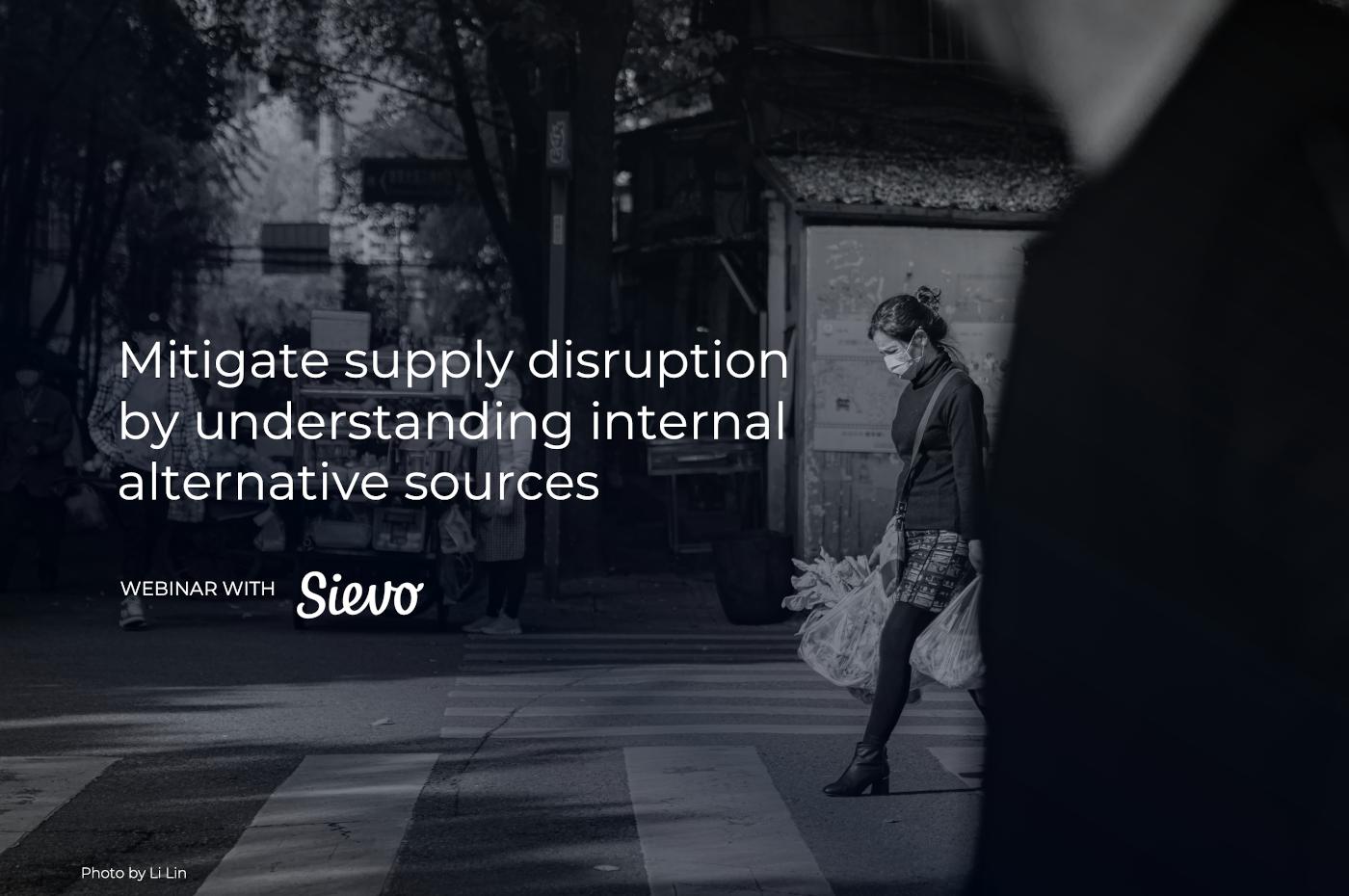 Supply disruption webinar